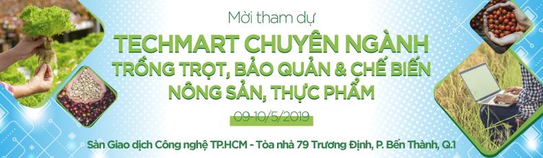 Mời tham dự Techmart thực phẩm 2019